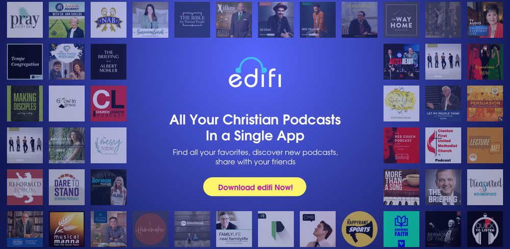Edifi Christian Podcast App