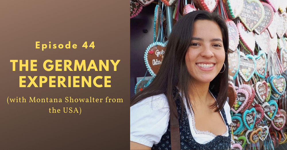 Seven months as an exchange student in Germany (Montana Showalter from the USA)