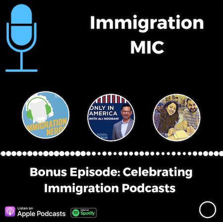 Bonus: Celebrating Immigration Podcasts Image