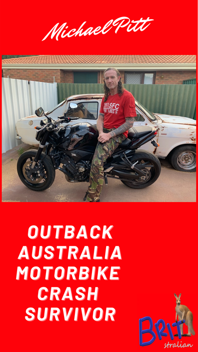 7: Outback Australia Motorcycle Crash Survivor