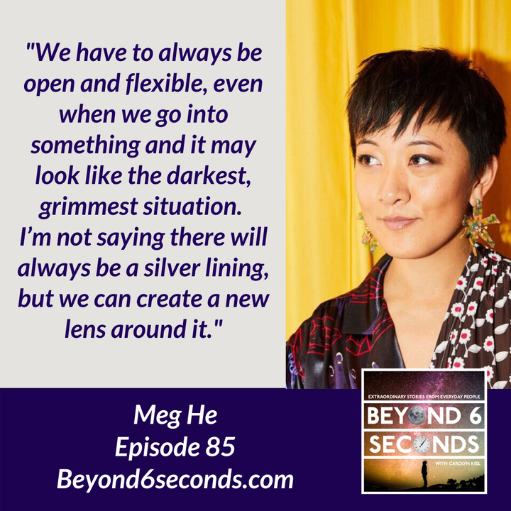 Episode 85: Growing and building a career that fits -- with Meg He
