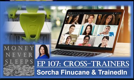 107: Cross-Trainers   Sorcha Finucane and TrainedIn Image