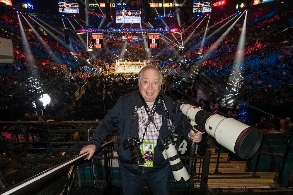 Sony Artisan of Imagery, photojournalist and filmmaker Neil Leifer