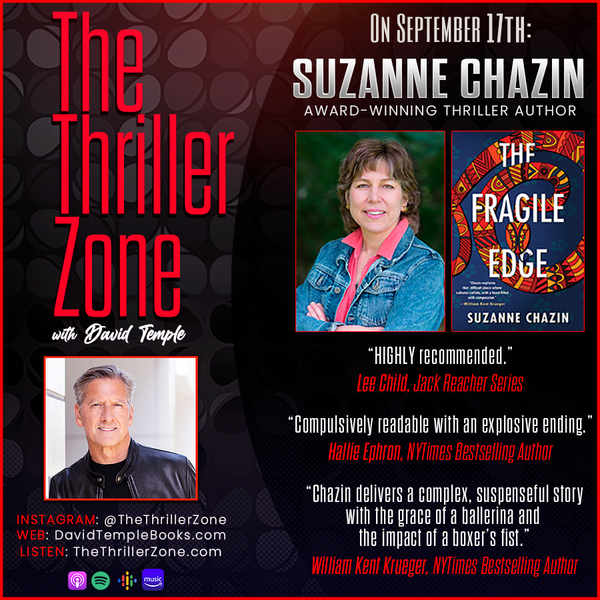Thriller and mystery writer, Suzanne Chazin Image