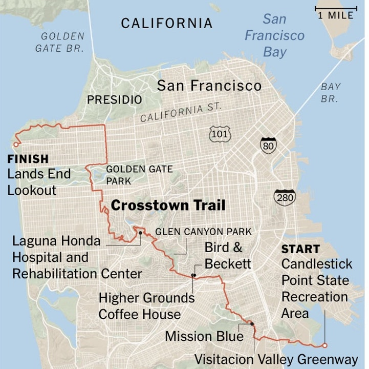America's most beautiful urban hike: the Crosstown Trail