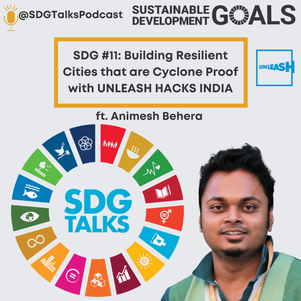 SDG #11: Building Resilient Cities that are Cyclone Proof in the UNLEASH HACKS INDIA with Animesh Behera