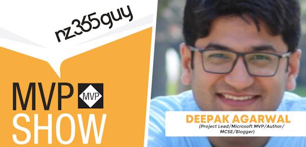 Deepak Agarwal on The MVP Show