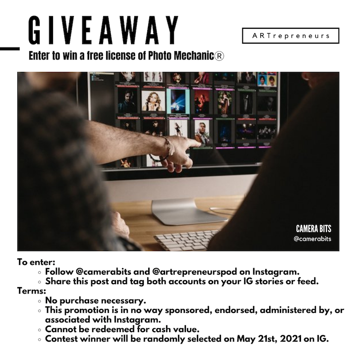 Photo Mechanic Giveaway!  Ends 5/21/21