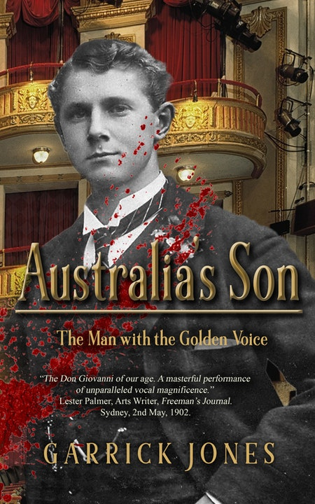 Garrick Jones: From Opera to Author Image
