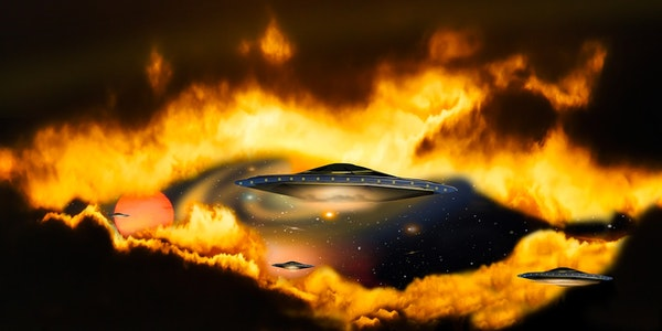 UFO's Over Pennsylvania Image