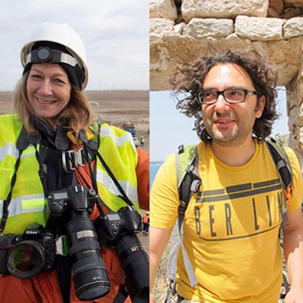 Belgesel fotoğrafçı Gülnur Sözmen ve seyahat yazarı Melih Uslu Image