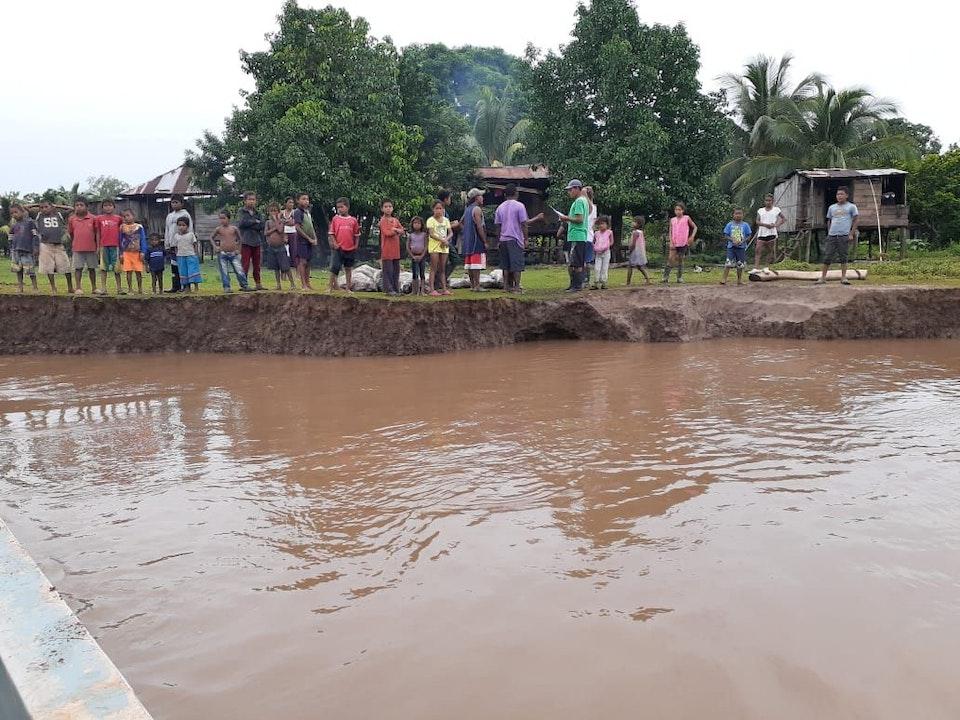 Inundaciones bajan pero el riesgo es latente en el Caribe