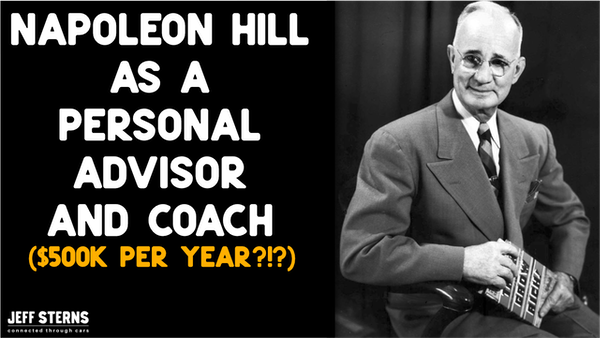 Napolean Hill as Personal (THINK AND GROW RICH) as a personal mentor! Image