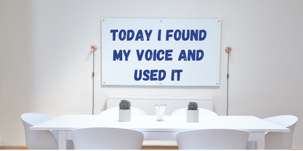 Minicast: I Found My Voice At Work And It Paid Off! Image