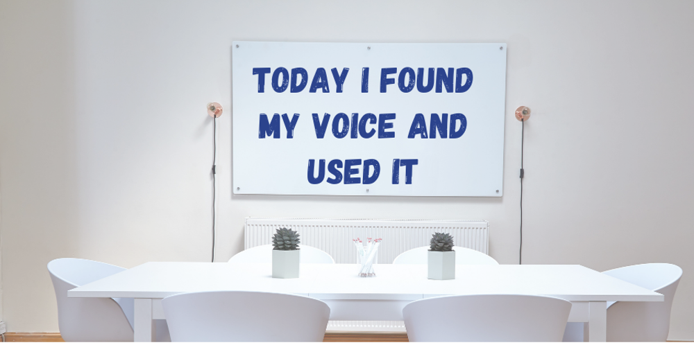 Minicast: I Found My Voice At Work And It Paid Off!
