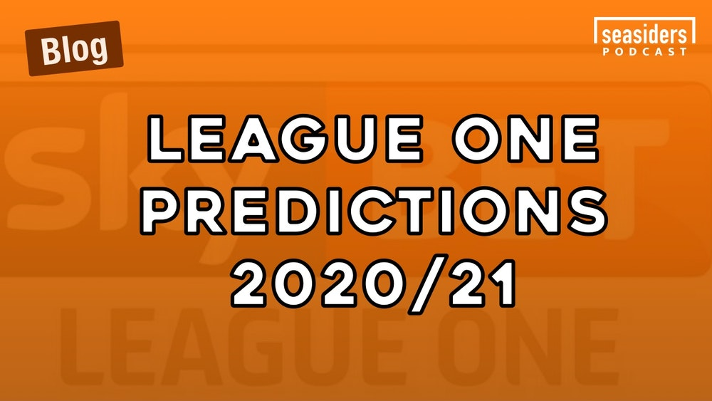 League One Season Predictions - 2020/21