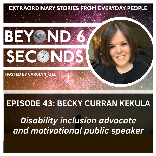 Episode 43: Becky Curran – Advocating for disability inclusion Image