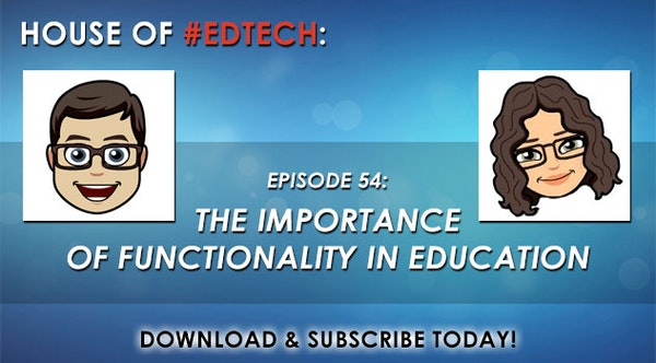 The Importance of Functionality in Education - HoET054 Image