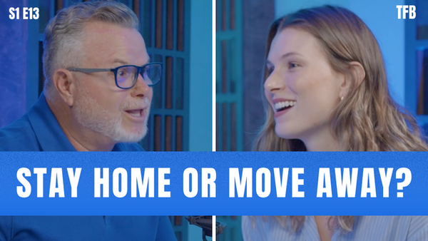 Stay or Go? Choose The Right Move as a Young Adult (w/ Stephanie Alessi Muina)   S1 E13 Image