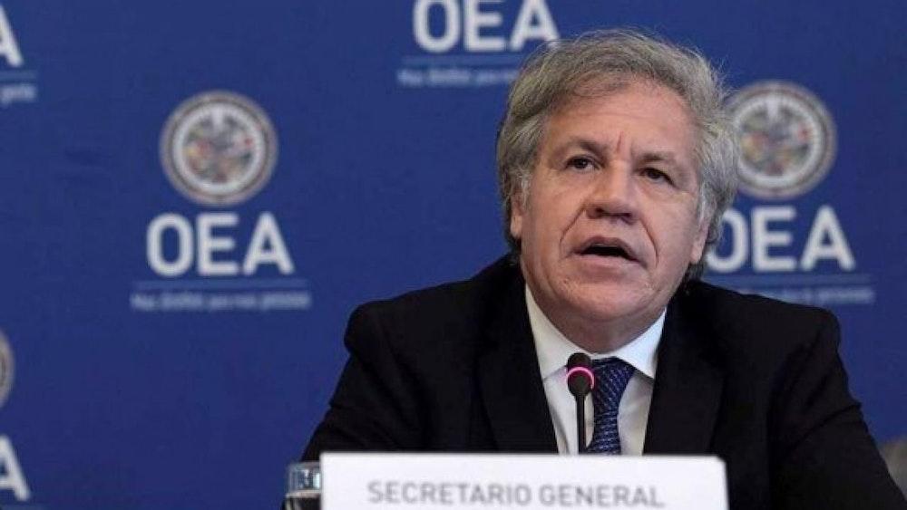 Secretaría General de la OEA rechaza reformas electorales y elección de magistrados
