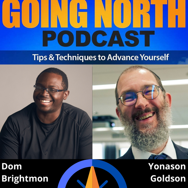 "Ep. 321 – ""Ethical Success and Business Prosperity"" with Rabbi Yonason Goldson (@yonasongoldson) Image"