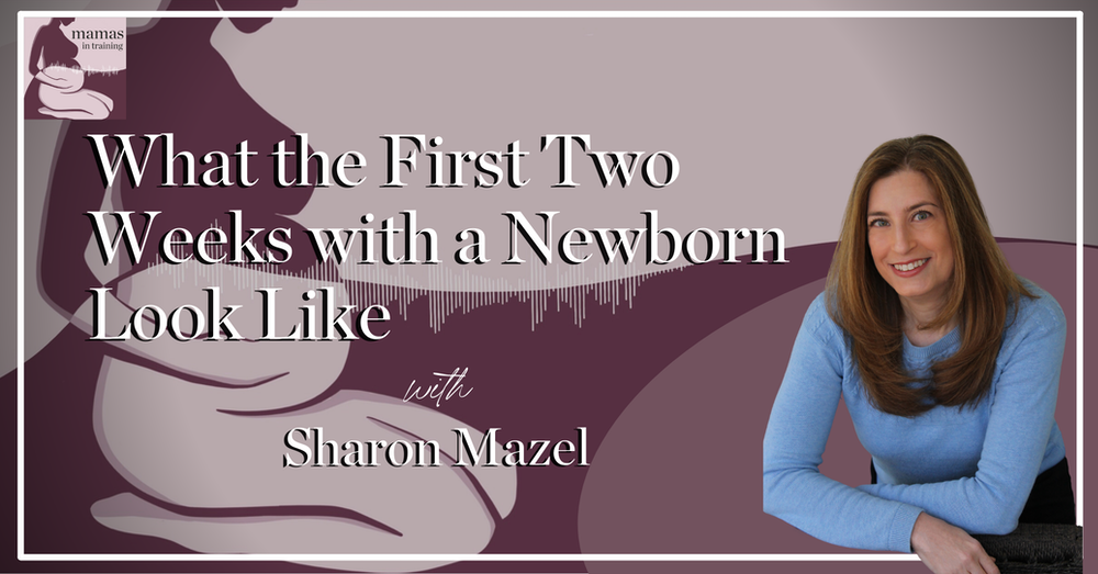 EP90- What the First Two Weeks with a Newborn Look Like with Sharon Mazel