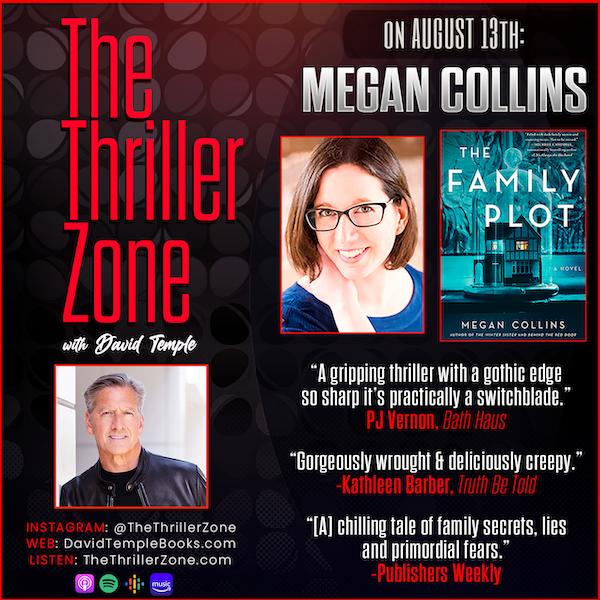 Megan Collins has written a chilling novel, The Family Plot Image