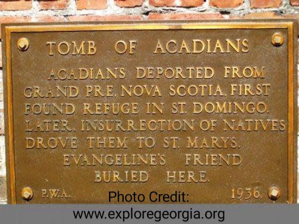 Episode 7 - Oak Grove Cemetery's Acadian People's: Saint Marys, Georgia