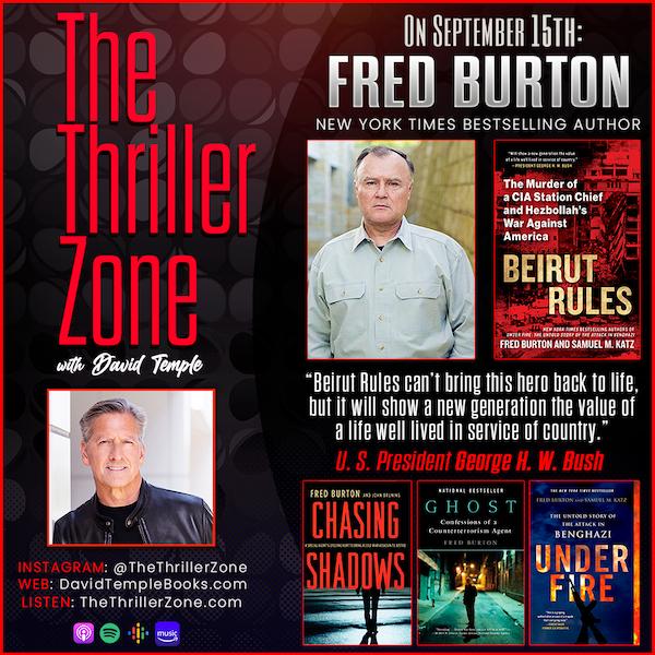 New York Times Bestselling Author Fred Burton Image