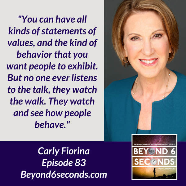 Episode 83: How to Overcome Fear and Find Your Way as a Leader -- with Carly Fiorina Image