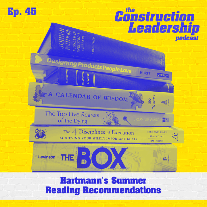 Ep. 45 :: Hartmann's Summer Reading Recommendations