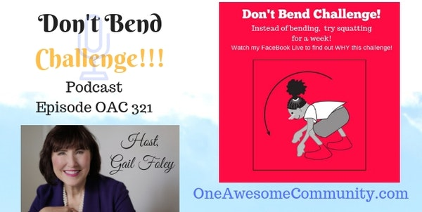 OAC 321 Don't Bend Challenge!