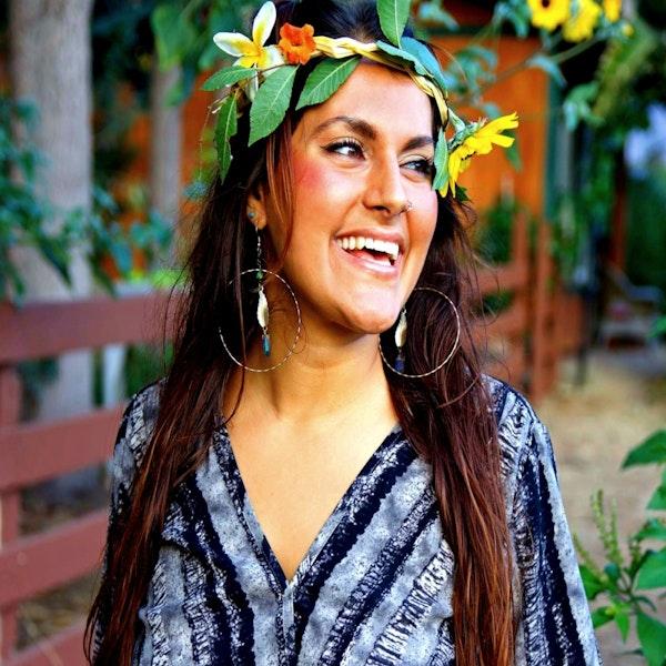 Ep. 17 Marina Qutab: Living the Eco Goddess Lifestyle through film, photo, recipes, and music Image