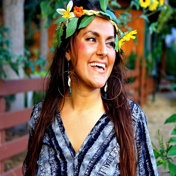 Ep. 17 Marina Qutab: Living the Eco Goddess Lifestyle through film, photo, recipes, and music Image