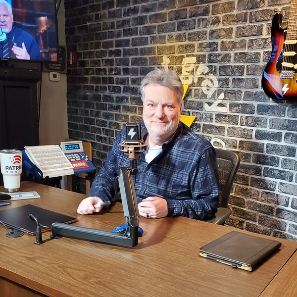 At The Mic (with Keith) - Episode 1 - Guest: Pat Gray - (3/6/2020) Image