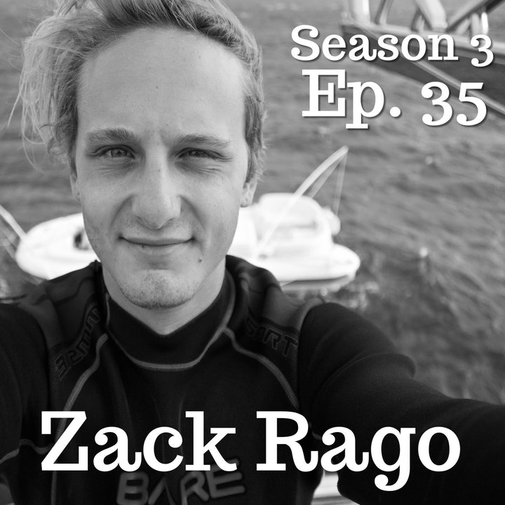 Ep. 35 Zack Rago: Diving In with Chasing Coral Co-Star