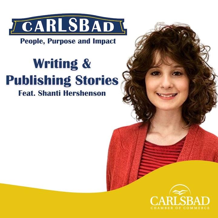 Ep. 10 Writing & Publishing Stories with Teen Author, Shanti Hershenson