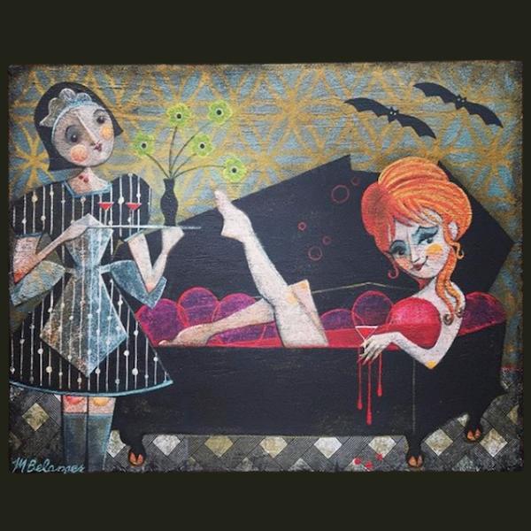 Melissa Belanger: Art Quite Contrary Image
