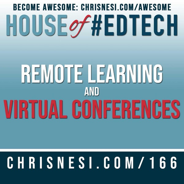 Remote Learning and Virtual Conferences - HoET166 Image