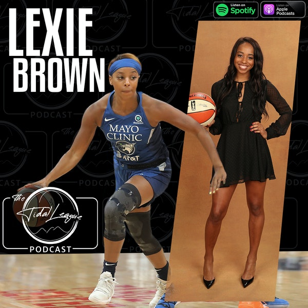 "Lexie Brown | WNBA ""Wu""bble 