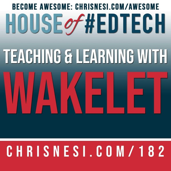 Teaching and Learning with Wakelet - HoET182 Image