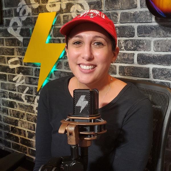 At The Mic - Ep. 57 - Guest: Rachel Bonilla (6/11/21)