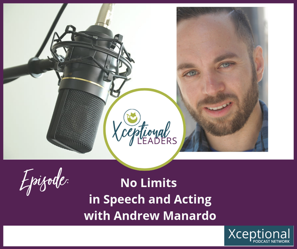 No Limits in Acting and Speech Pathology with Andrew Manardo Image