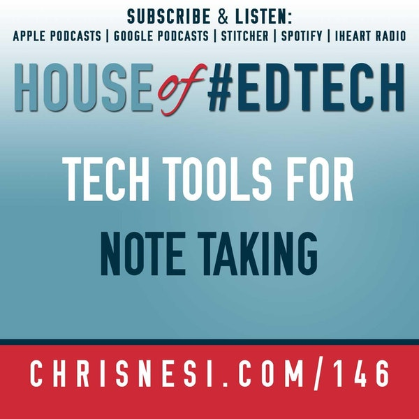 Tech Tools for Note Taking - HoET146 Image