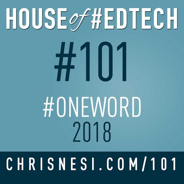 #OneWord 2018 - HoET101 Image