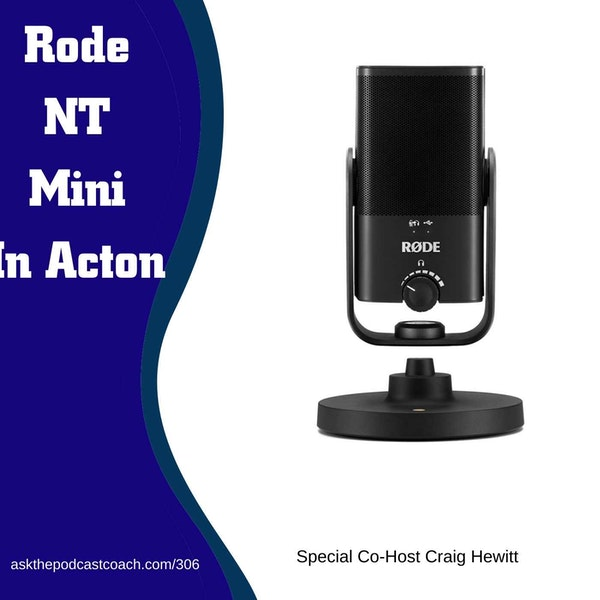 The Rode NT Mini USB In Action