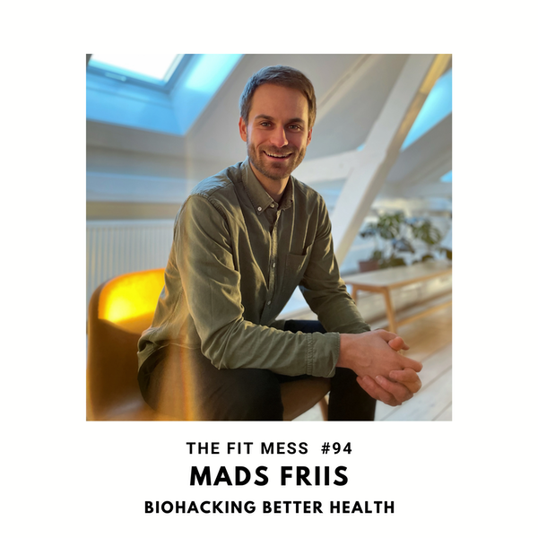 Biohacking or BS? Fact vs Fiction in the World of Self-Help with Mads Friis Image