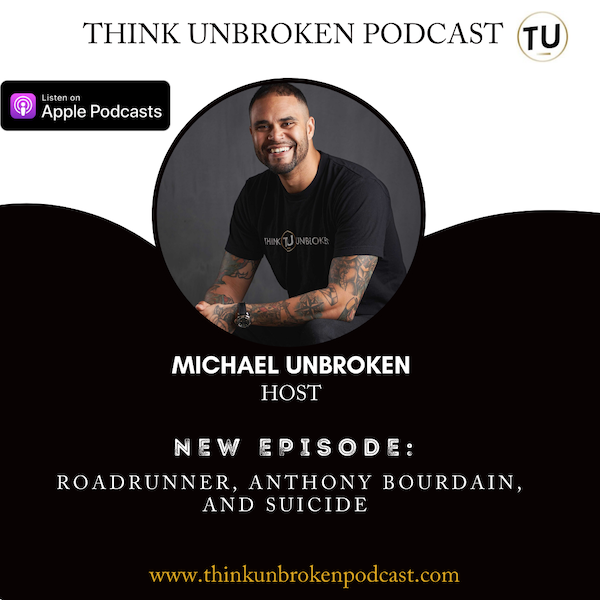 E92 Roadrunner, Anthony Bourdain, and Suicide | Trauma and CPTSD Coach Podcast Image