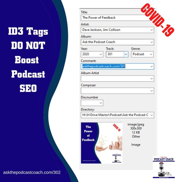ID3 Tags Do Not Boost SEO for Your Podcast