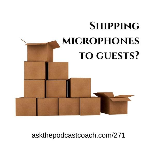 Shipping Microphones to Guests